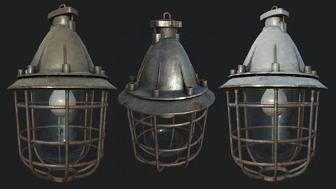 Bunker Ceilling Lamp PBR