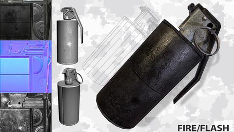 Grenade m14 m18 Flash/Fire/Smoke