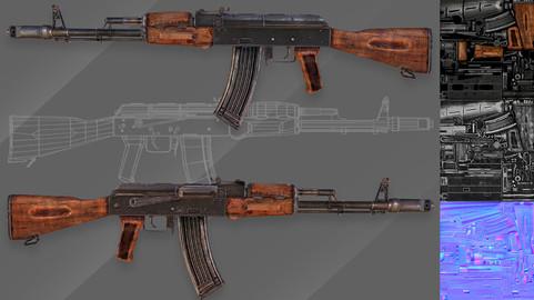 AK-74 Assault Rhifle