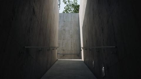 Inhotim Lighting & ArchVis Corridor (UE4)