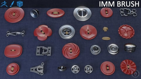 BUTTONS FASTENERS IMM BRUSH PART 2