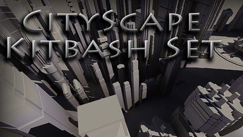 CityScape Kitbash Set