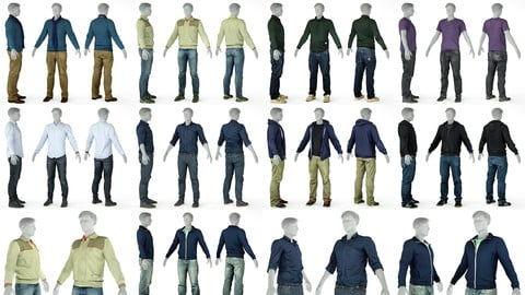 9 Casual Clothing Collection Male 2