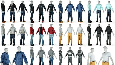 10 Casual Clothing Collection Male 3