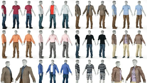 10 Casual Clothing Collection Male 4