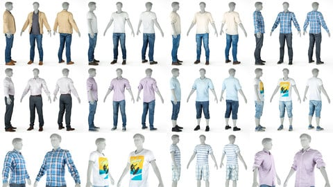 9 Casual Clothing Collection Male 5