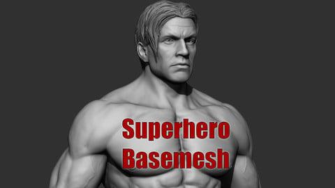 Superhero Basemesh