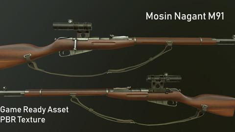 Mosin Nagan M91 Sniper Rifle