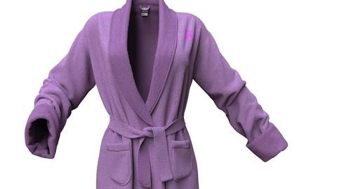 Marvelous Designer Garment File: Bathing Robe