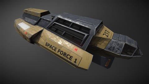 Space force 1 Transport
