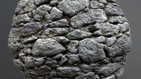 Wall, stone 01270 – PBR Material GamesTextures.com