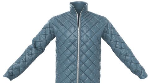 Marvelous Designer Quilted Jacket Garment File + Fabric Presets