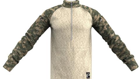Marvelous Designer Military Combat Shirt Garment File