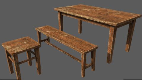 Wood Furniture Pack