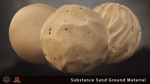 Substance - Sand Ground Material