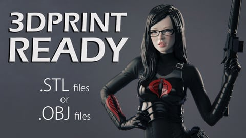 The Baroness - 3DPrint Ready