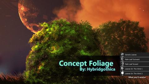 Concept Foliage Brushes.