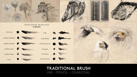 TRADITIONAL BRUSH