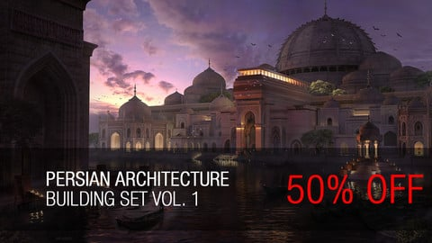 PERSIAN ARCHITECTURE Building set Vol.1