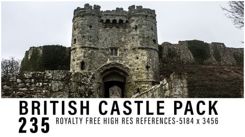 BRITISH CASTLE REFERENCE PACK