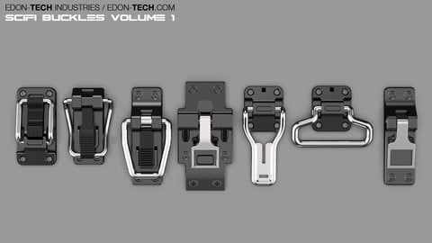 SCIFI Buckles Volume 1