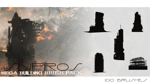 Sinpros Mega Building Brush Pack
