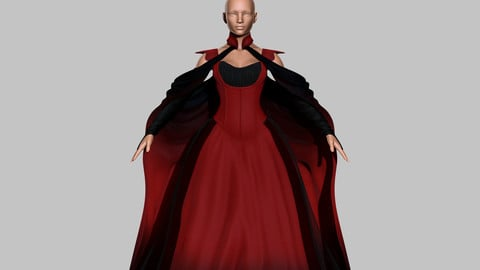 Victorian Gothic Dress  V5