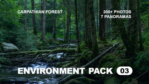 Env Pack 03 / Carpathian Forest reference pack