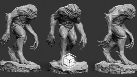 Creature - 3D Print Ready
