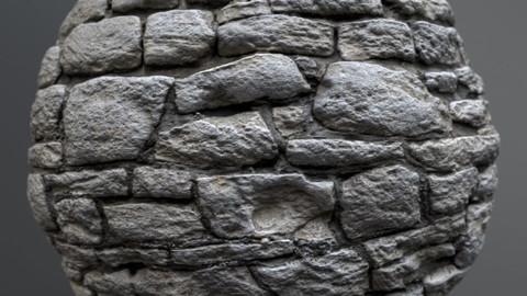 Wall, stone 00715 – PBR Material GamesTextures.com