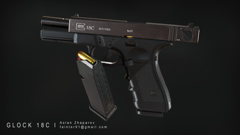Glock 18C Gameready Model