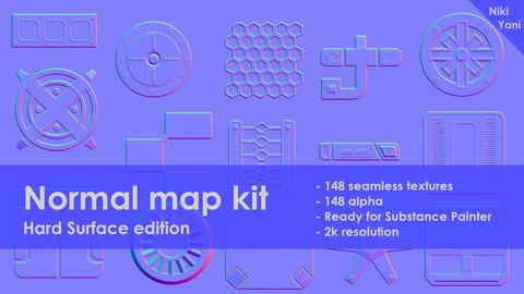 Normal map kit Hard Surface edition