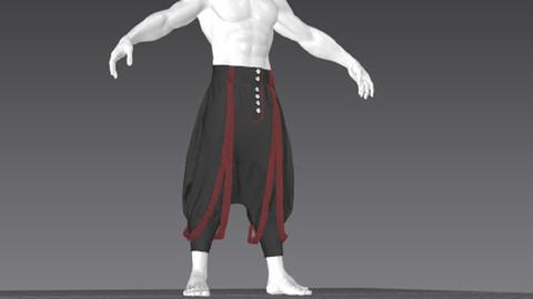 Clothes for Marvelous Designer: Rare Pants