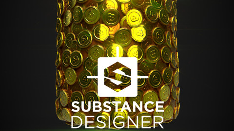 Stylized Coins with pattern select - Substance Designer