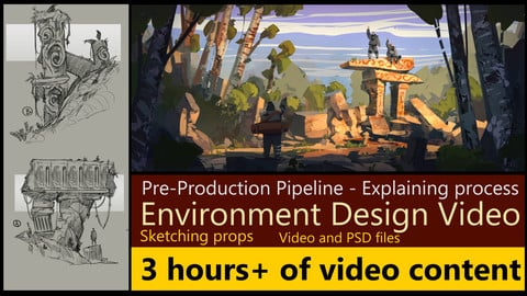 Concept art pipeline development