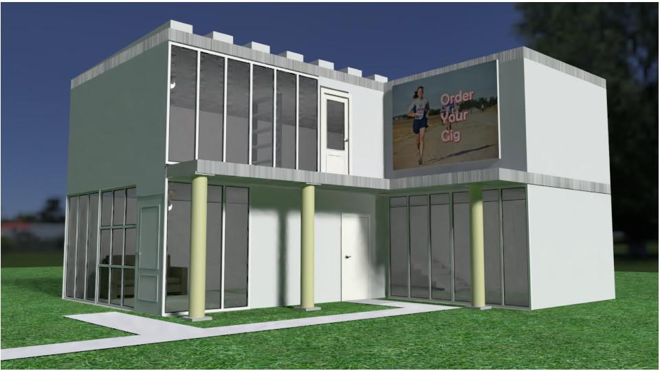 Blender Simple House Model