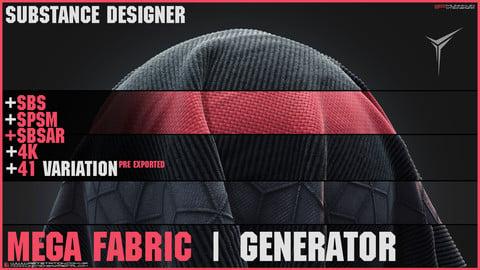 +41 Fabric Material + Mega Fabric Generator