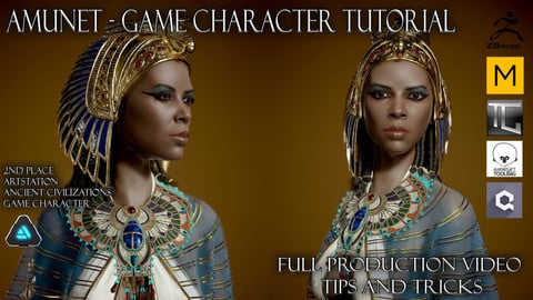 Amunet - real time character tutorial