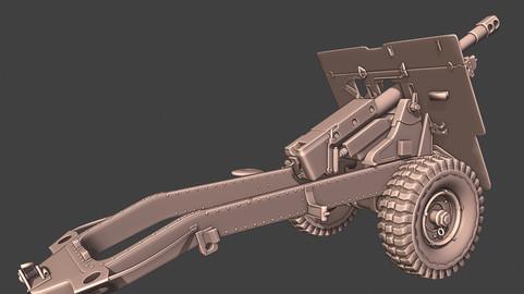 Ordenance QF 27 Howitzer