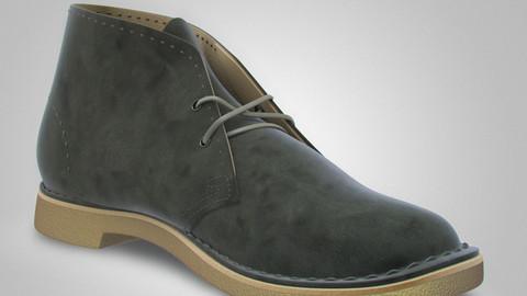 Clarks Desert Boots - 3D model
