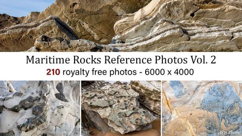 Maritime Rocks Photo Reference Vol. 2
