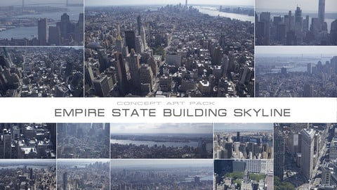 EMPIRE STATE BUILDING SKYLINE