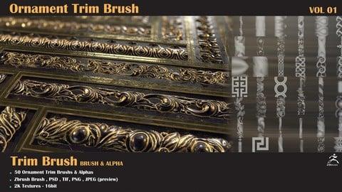 50-Ornament Trim Brush