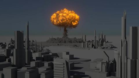 Houdini Nuke Explosion Asset