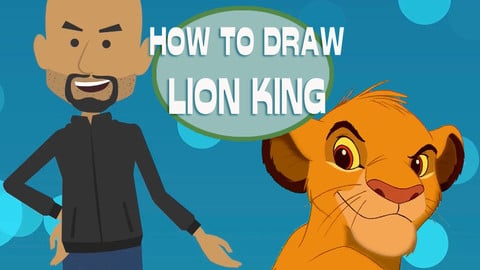 How To Draw The Lion King