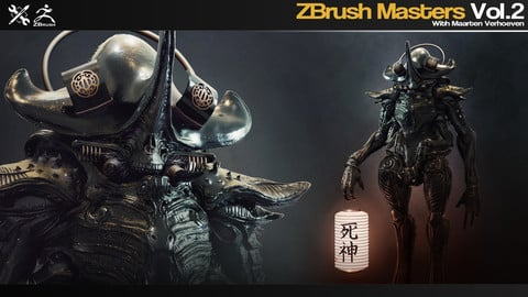 ZBrush Masters Vol.2