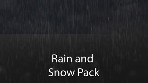 Rain and Snow Package for Unity