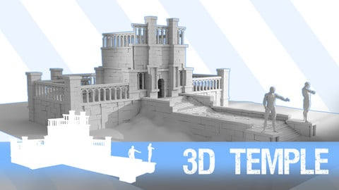 FREE Simple 3D Temple