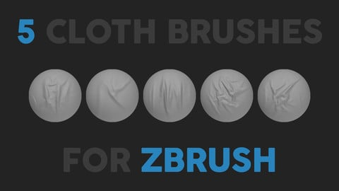 Cloth Brushes for Zbrush