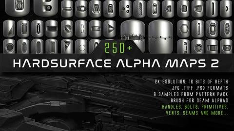 250+ JR Hardsurface Alpha Maps 2